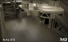 ArtStation - Halo 5 Guardians Warzone Fortress, Benjamin Nicholas