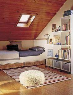 Um espaço aconchegante para a leitura