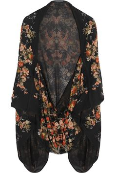 """Alexander McQueen. This not a """"boho"""" or """"gypsy"""" garment. It is a kimono inspired couture garment. The term """"boho"""" is being used to describe garments decidedly not bohemian or gypsy, such as modern 2014 Indian and Pakistani bridal wear, as well as embroidered national costumes of Mexico and Ukraine, and Japanese clothes called """"Kimono.""""  (That being said, an """"artistic free spirit"""" of any culture may be described as """"bohemian."""")"""