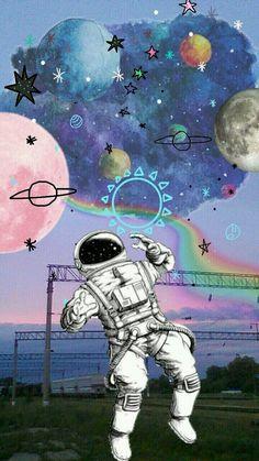 ideas for wallpaper art trippy Tumblr Wallpaper, Galaxy Wallpaper, Screen Wallpaper, Cool Wallpaper, Wallpaper Backgrounds, Trendy Wallpaper, Wallpaper Quotes, Space Wallpaper, Trippy Iphone Wallpaper