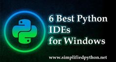 Here are 6 Best Python IDEs that you must try if you are a python programmer. An IDE help us to become more productive so here are best python ides.
