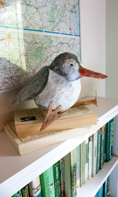 DIY: Paper Maché Birdy Penny Bank