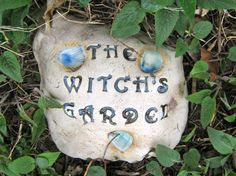 The Witch's Garden by AntB on Etsy, $25.00  @Teena MoonChild