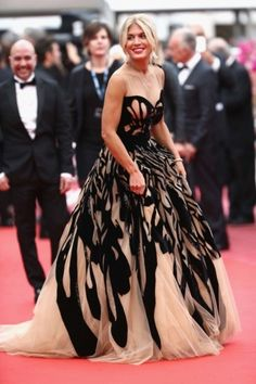 "Hofit Golan attends the ""Cafe Society"" premiere and the Opening Night Gala during the annual Cannes Film Festival at the Palais des Festivals on May 2016 in Cannes, France. Glamorous Outfits, Palais Des Festivals, Strapless Dress Formal, Formal Dresses, Cannes Film Festival, Red Carpet, Ball Gowns, Glamour, Style Inspiration"