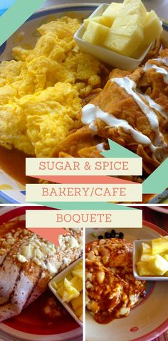 The most popular restaurant in our whole town- Sugar & Spice. Try their delicious fresh baked breads.