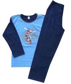 Piżama piżamka SKATE dł rękaw 146 POLSKA