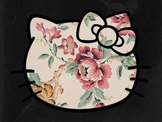 floral hello kitty