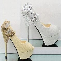Hermosos zapatos de noche   Colección fiesta