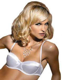 ff10b468a8531 Gracya B01 Lucy White Bra 34C UK 34B US 90C FR at Amazon Women s Clothing  store  Bras
