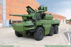 Jaguar EBRC 6x6 reconnaissance combat armored vehicle Scorpion data