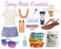 Spring Break Wish List
