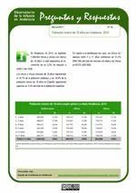 Población menor de 18 años en Andalucía, 2010