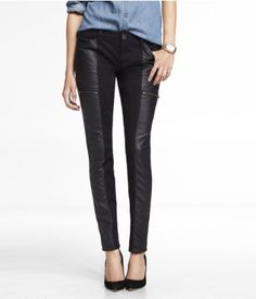 (MINUS THE) LEATHER PIECED LEGGING | Express