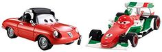 DisneyPixar Cars Collector DieCast Vehicle 2Pack Francesco Bernoulli and Guiseppe Motorosi ** Learn more by visiting the image link.