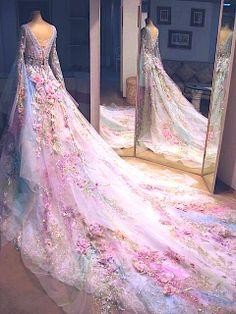 ✧fairy wedding dress