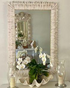 Seashell Chandelier, Albino, Fireplace Surrounds, Sea Shells, Kendall, Oversized Mirror, Chic, Beauty, Instagram