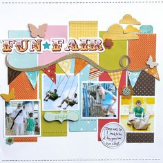 Ideas for Scrapbookers: Design Tip: Paper Inspiration