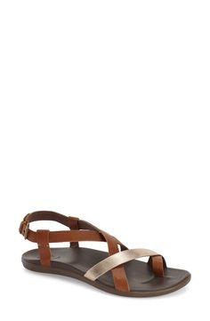 1e7000a4b130 OluKai  Upena  Flat Sandal (Women) available at  Nordstrom Olukai Sandals