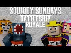 http://minecraftstream.com/minecraft-gameplay/squiddy-sundays-minecraft-xbox-battle-ship-royale-mini-game/ - Squiddy Sundays - Minecraft Xbox - Battle Ship Royale Mini Game  Hello everybody and welcome to squiddy sunday's, this week me and stampy are teaming up against AmyLee33 & Finnball on the mini game 'Battle Ship Royal' Squiddy T-Shirts – http://iballisticsquid.spreadshirt.co.uk/ Subscribe –...