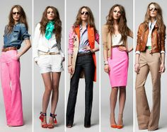 5 great trendy work outfits - wish I could wear stuff like this at work :/