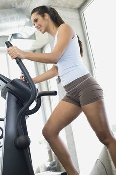 This 45-minute elliptical interval workout is so easy to get through and easy to build up to higher levels. It blasts fat and the time goes really quickly. Saw results after a few days.