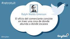 Ralph Waldo Emerson y el comercio #retrotuit
