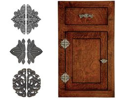 Notting Hill Decorative Cabinet Hinge Plates Add Just A Little Bit More To  The Overall Design