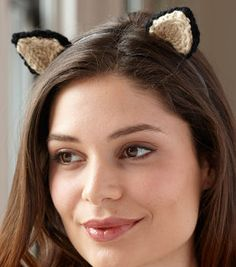 FREE--kitten head band