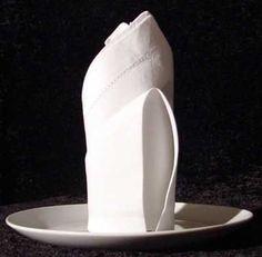 RoseBud cloth napkin fold