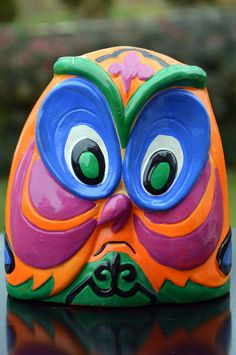 Vintage Owl Piggy Bank