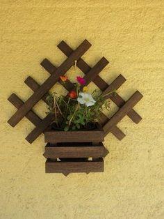 Patio decoration - flower holder