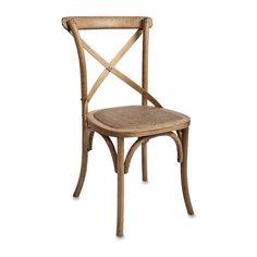 Oak Dining Chair Cross Back   Citta Design