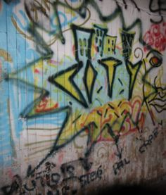 Graffio - City - 1984 Graffiti, City, Painting, Painting Art, Cities, Paintings, Painted Canvas, Drawings