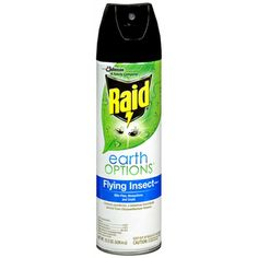 I'm learning all about Raid Earth Options Flying Insect Killer Unscented at @Influenster!