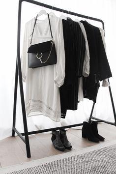 Damoy, minimal, black and white closet Shop at damoyantwerp.com