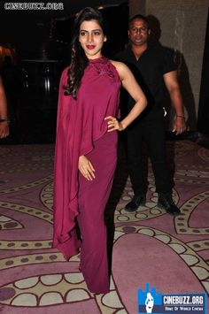 Samantha Latest Hot Images in Red Dress