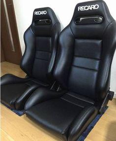 2 original recaro sr3 seats leather racing from japan toyota honda car honda recaro seat office