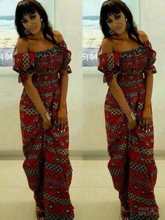 The complete pictures of latest ankara long gown styles of 2018 you've been searching for. These long ankara gown styles of 2018 are beautiful African American Fashion, African Fashion Ankara, Ghanaian Fashion, African Print Dresses, African Print Fashion, Africa Fashion, African Dress, African Attire, African Wear