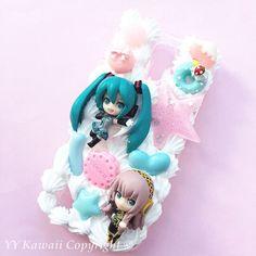Custom vocaloid hatsune miku rin len luka inspired by YYKawaii