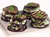 Eggplant & Asparagus Napoleons- I would substitute Zucchini for the Eggplant