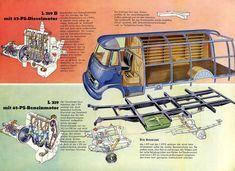 1958 Mercedes 319l brochure