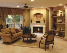 Furniture Placement Around Corner Fireplace Design, Pictures, Remodel, Decor and Ideas - page 9
