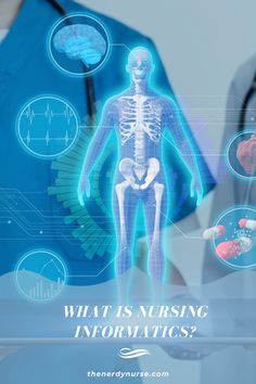 Nursing informatics is a field that allows specialists to be at the meeting point of technology and healthcare, giving a front row seat to many innovations. #thenerdynurse #nurse #nurses #informatics #nursetechnology #nursespecialties