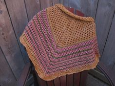 """Hugs For Your Head: Escapist - a free pattern 2 options for the Edge, scallop lace or flat edge. A design for fast knit, wide, warm, """"old fashioned-yum"""""""
