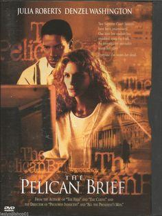 The Pelican Brief (DVD, 1997)  Julia Roberts, Denzel Washington