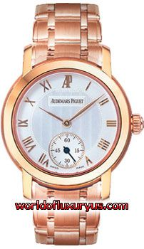 79386OR.OO.1229OR.01 - This Audemars Piguet Jules Audemars Womens Watch, 79386OR.OO.1229OR.01 features 27 mm 18 kt Rose Gold case, White dial, Rose Gold-tone hands, Sapphire crystal, Fixed bezel, and a 18 kt Rose Gold Bracelet. - See more at: http://www.worldofluxuryus.com/watches/Audemars-Piguet/Jules-Audemars-Lady/79386OR.OO.1229OR.01/62_355_7723.php#sthash.ahX3TPTl.dpuf