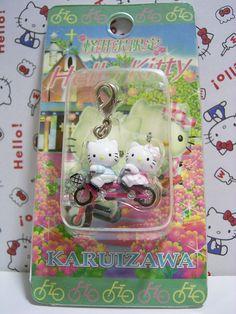 GOTOCHI Hello Kitty & Daniel KARUIZAWA Japan LIMITED Mascot Mascot Charm Sanrio 2005