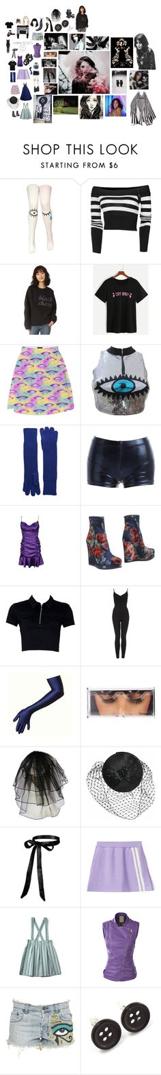 """briar"" by astral-leech ❤ liked on Polyvore featuring Ashish, Elie Saab, Lauren Ralph Lauren, Gia-Mia, Jil Sander, Benefit, GAS Jeans, Dollydagger, Ksubi and Avalaya"