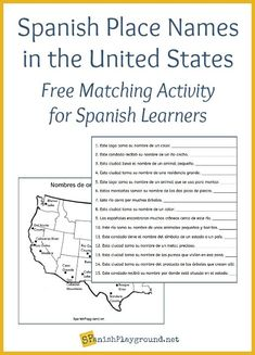 Learning Spanish For Kids, Spanish Teaching Resources, Spanish Activities, Spanish Language Learning, Foreign Language, Class Activities, Teaching Ideas, Spanish Lesson Plans, Spanish Lessons