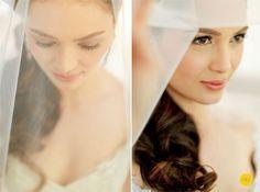 Oyo Sotto and Kristine Hermosa Wedding – Nelwin Uy Photography – Manila / Worldwide Bridal Makeup, Wedding Makeup, Wedding Blog, Wedding Photos, Bride And Breakfast, Loose Updo, Alternative Bride, Allure Bridal, Bridal Robes